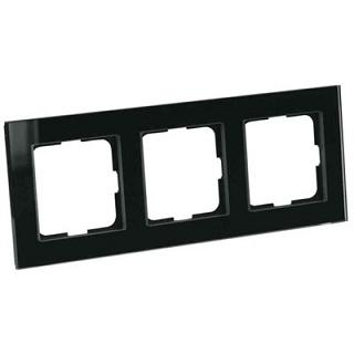 Elko Plus Option Ram 3Fack Glas Svart
