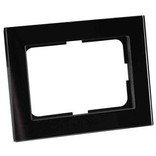 Elko Plus Option Ram 1½-fack Svart Glas