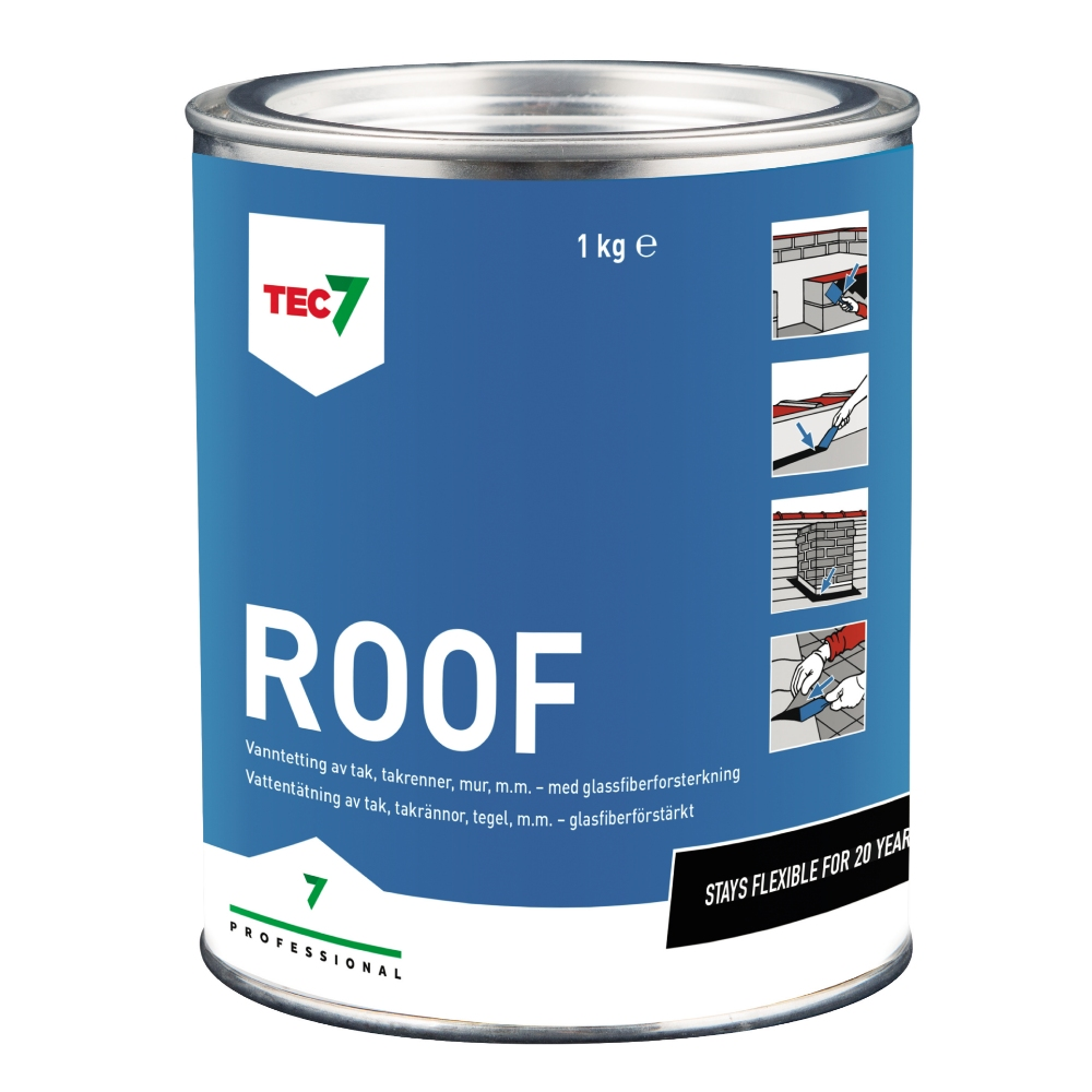 Gummiasfalt Roof Tec7 1KG