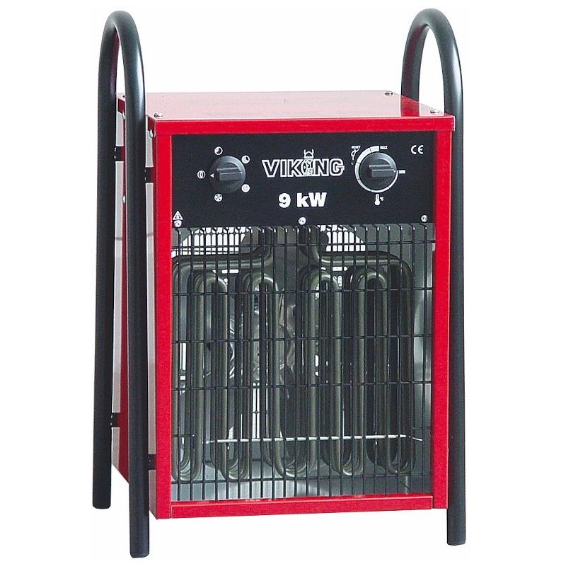 Värmefläkt, Byggfläkt Stativ 9kW, 400V, IP44 Bygg-ström
