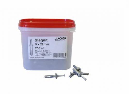 SLAGNIT 5X22MM 5X22MM 250 ST