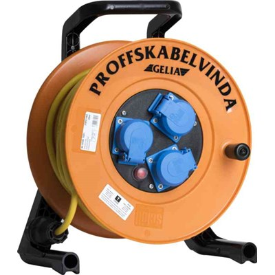Kabelvinda Pur 25m 3G1.5 Godkänd Fö