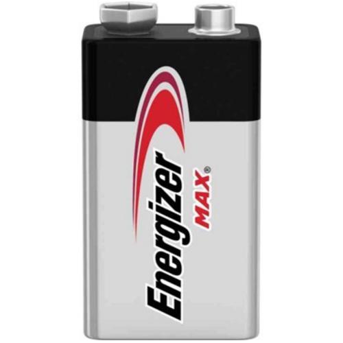 Batteri, 9V alkaliskt, Energizer Max 10år