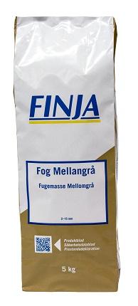 FOGBRUK FINJA MELLANGRÅ 5KG