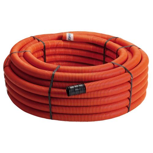 Kabelrör 50/42 Orange Slät Inv 50m