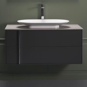 Edge Tvättställsskåp 1000, Antracitgrå - Hafa