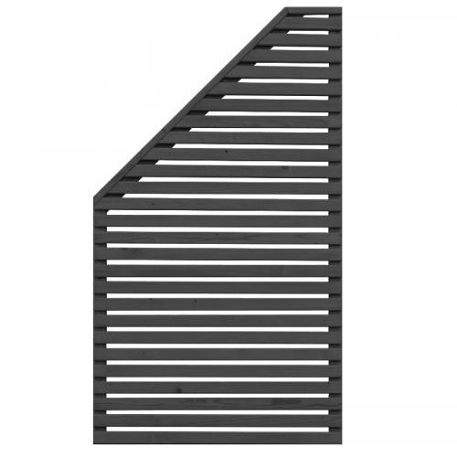 Jabo Skärm Horizont 3 svart vänster, 79 x 159/89 cm, 37108