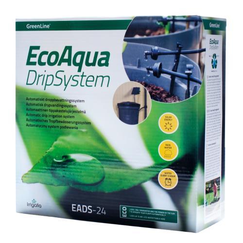 Droppbevattningssystem Eco Aqua AEDS GreenLine