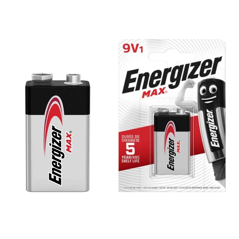 Batteri, MAX 9V, Energizer