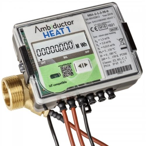 Energi- Värmemätare HEAT 1 DN20 qp 2,5 130 G25 - 4956409