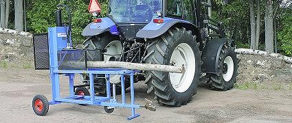 Per Wikstrand PW Vedmaskin Traktordriven
