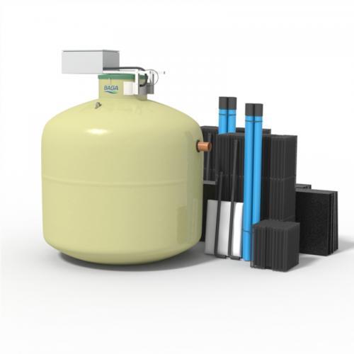 Baga Easy G4 2 hush. med Biomoduler 32 kvm