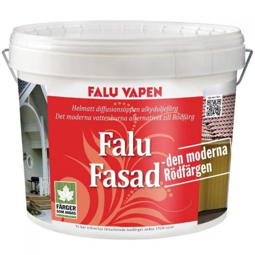 Fasadfärg Faluröd 4L Falu Vapen