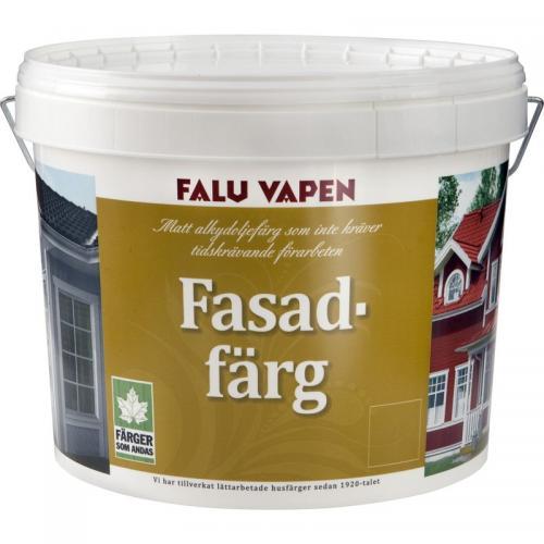Fasadfärg Herrgårdsgul 10L Faluvapen