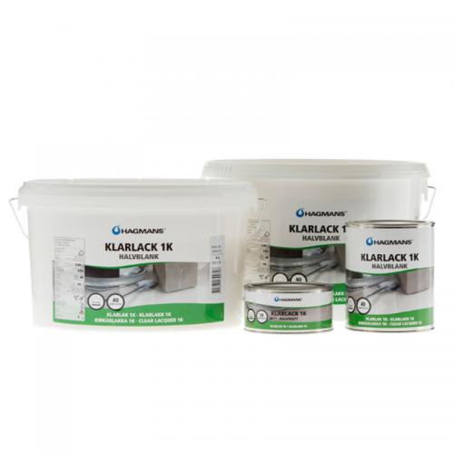 Klarlack 1K 40 Glans 0,3 Liter Hagmans- 39070