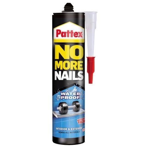 Monteringslim No more nails 280ml Water Proof Inne, Ute