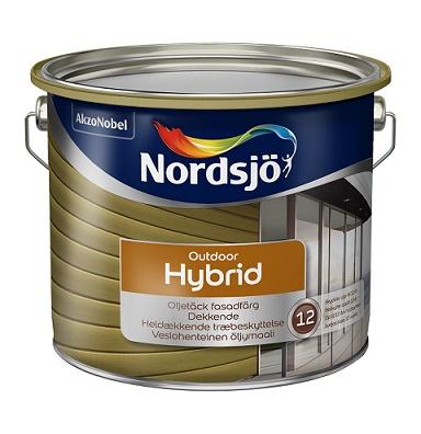 FASADFÄRG HYBRID 337 NORDSJÖ SVART 2,5L