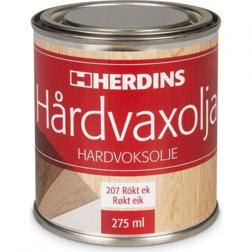 Hårdvaxolja Pigmenterad Rökt-ek Herdins 0,275 L