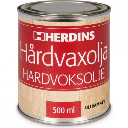 Hårdvaxolja Herdins Natur 500ml Ultramatt