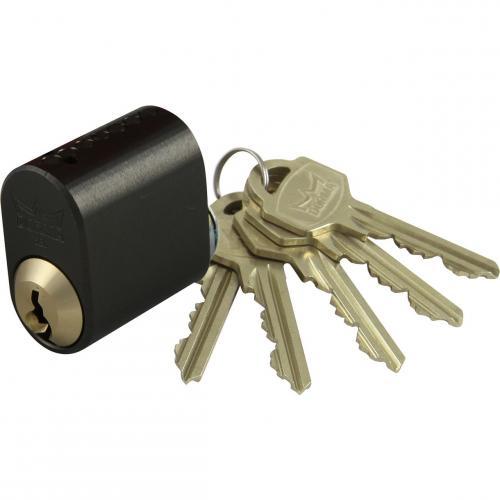 Cylinder Oval 5st Nycklar 91974 Grafit Miller