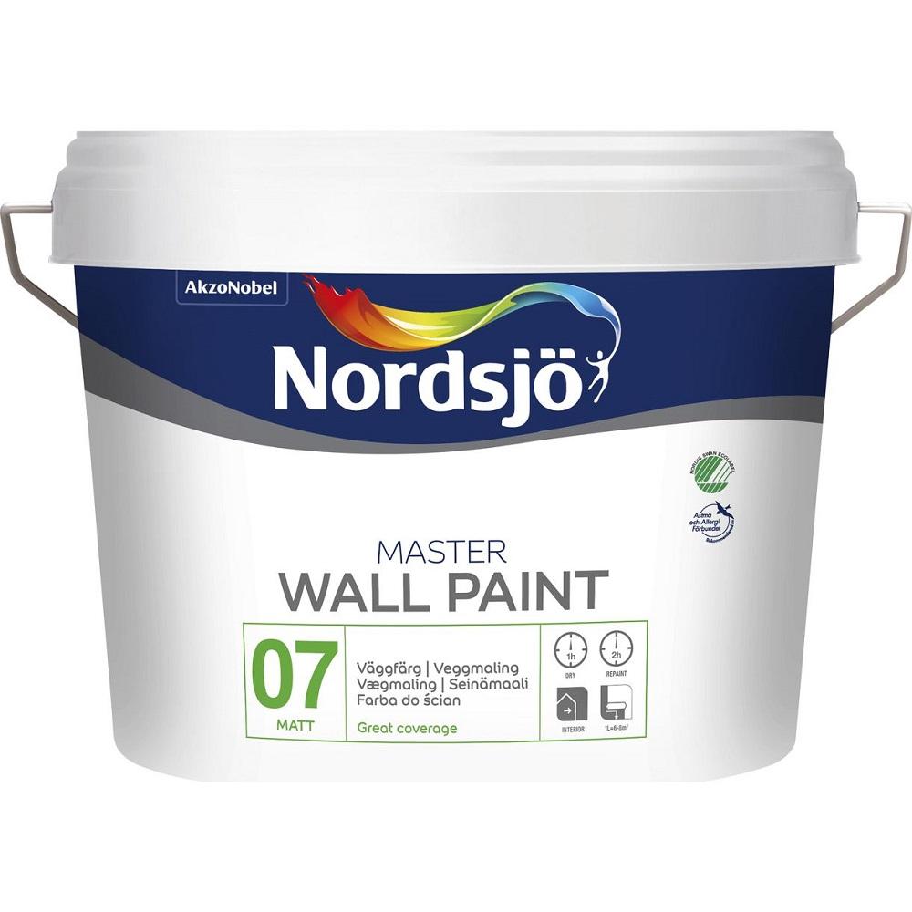 Väggfärg Mäster Nordsjö G7, 10L