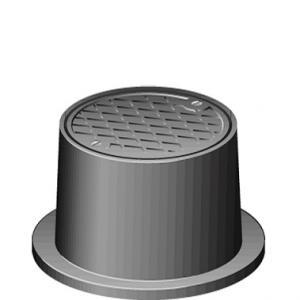 Brunnsbetäckning Med Lock 150mm