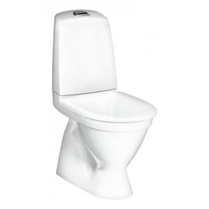 Gustavsberg Toalettstol Nautic 1500 Hygienic Flush Enkelspolning inkl Mjuksits