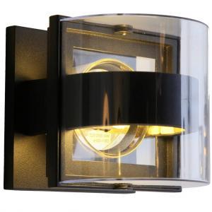 Vägglampa Delta Mini, Svart