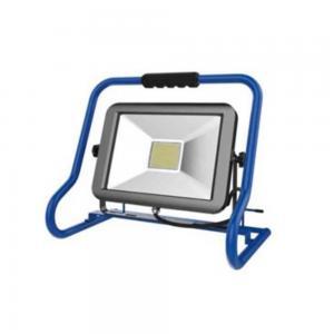 Arbetsplatsbelysning LED 30 W, med stativ, frostat glas