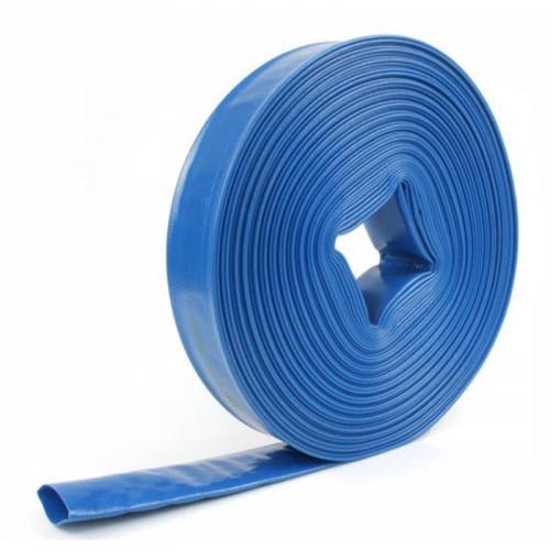 Avtappningsslang PVC 25mm Flatrullad 10m
