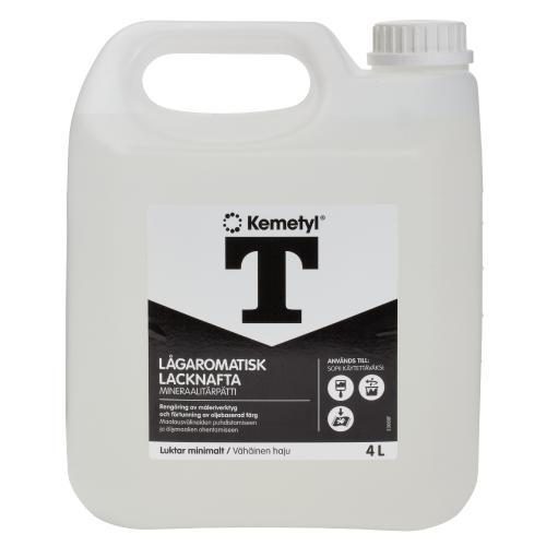 Lacknafta Lågaromatisk Kemetyl 4L