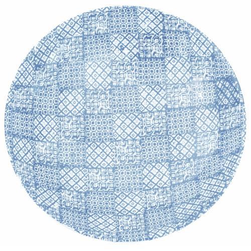 Salladsskål Minerva, Ø 40 cm Blå, 31028