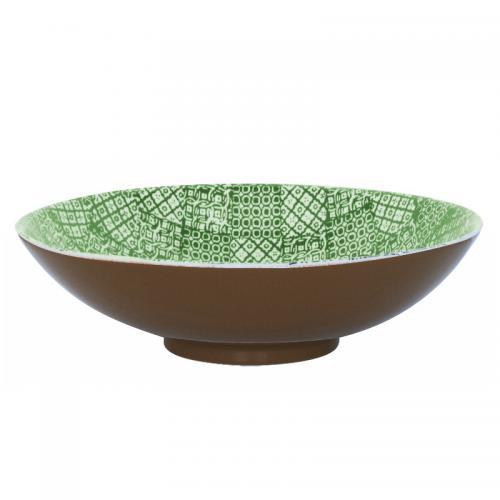 Salladsskål Minerva, Ø 35 cm Grön, 31031
