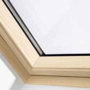 VELUX pivåhängda takfönster Solo 2 Klarlack