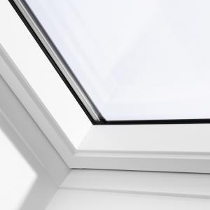 VELUX pivåhängda takfönster Solo 2 Vitmålat