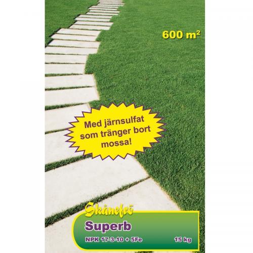 Gödsel Superb G 17-3-10+5Fe 15 kg