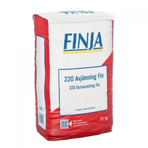 Spackel 220 Avjämning Fin 25 kg Finja 53220