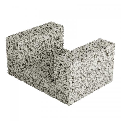 Sulblock 400x190x300mm