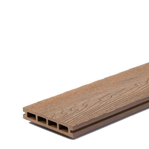 Komposit Trall Till Bamboodeck, 150x25x2900mm Classic Embossing Teak, WPC009