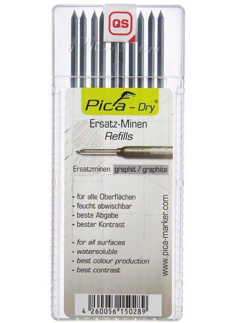 Märkstift Pica dry grafit 4030 - 10-pack