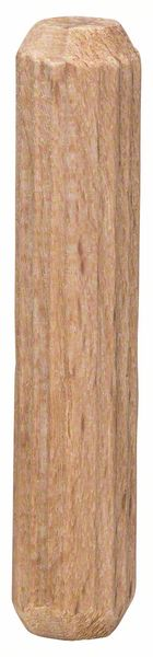 Träplugg räfflad Bosch