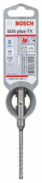 Hammarborr 4-skär Bosch SDS-plus-7X (5.0 x 50 / 115 mm)