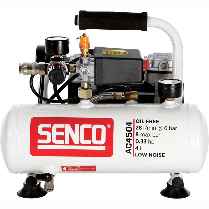 Kompressor Senco AC4504 LOW NOISE 8 bar