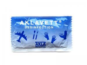 Våd serviet Akla Aklavett desinfektion 1-pakning