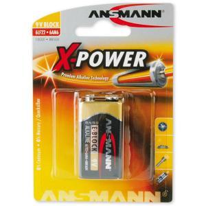 Batteri Ansmann E-blok 9V 6LR61 9V 1-pakning