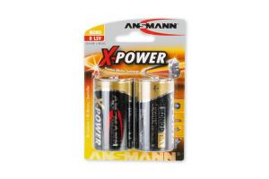 Batteri Ansmann Mono D LR20 1,5V, 2-pakning