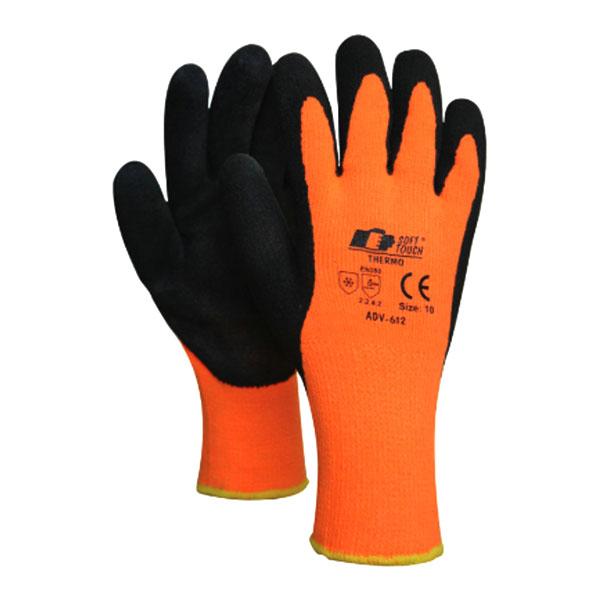 Arbetshandskar Thermo orange Soft Touch (storlek. 8 - M)
