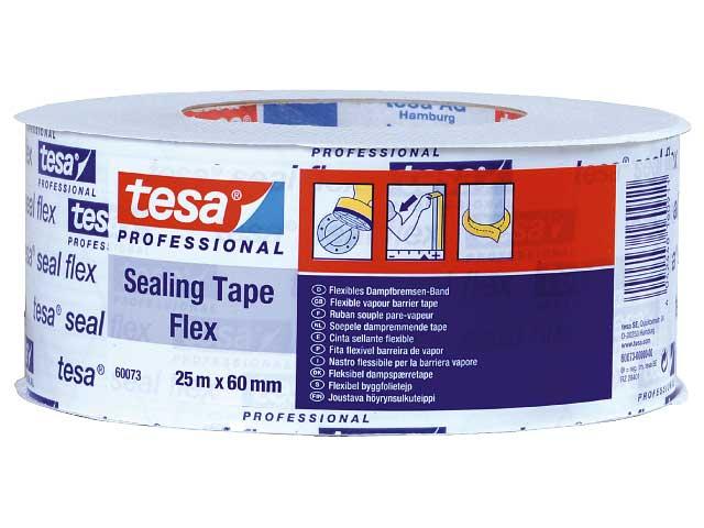 Byggfolietejp Tesa Seal Flex 60073 - 60mm x 25m