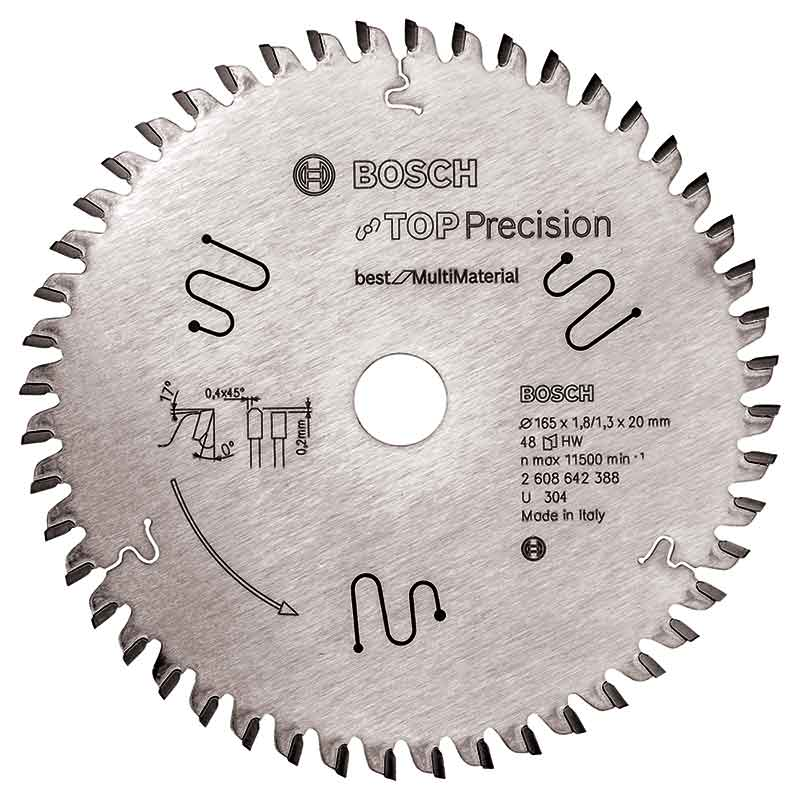 Fantastisk Köp sågklinga 165mm för Multi Material Top Precision Bosch SM-14