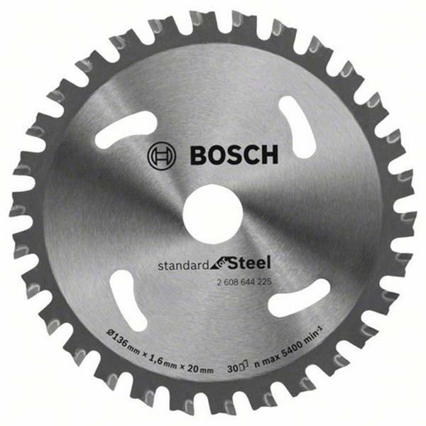 Sågklinga Bosch Standard för METALL (136 mm x 20 mm x 30T)